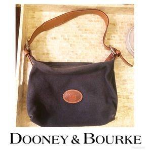 Dooney & Bourke Blue Canvas Purse 🌸